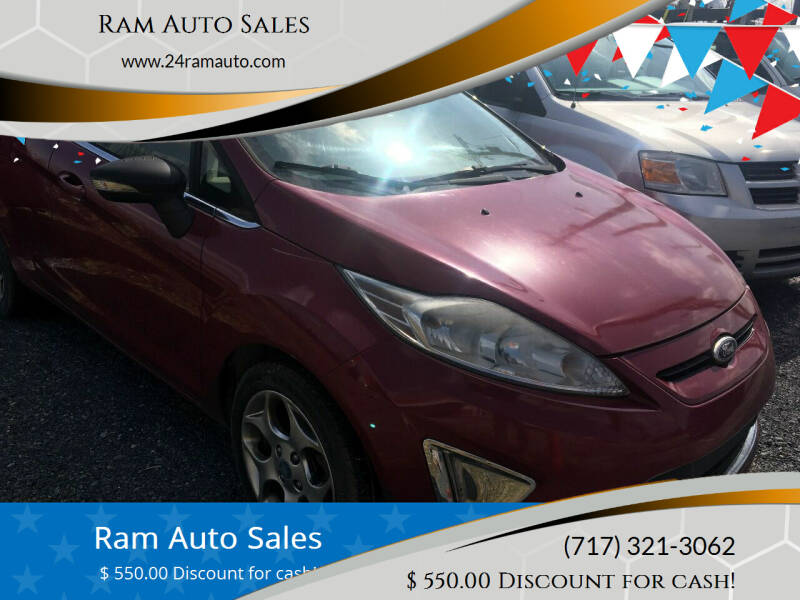 2011 Ford Fiesta for sale at Ram Auto Sales in Gettysburg PA