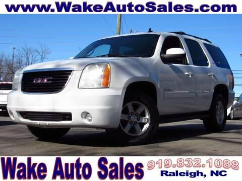 2012 GMC Yukon for sale at Wake Auto Sales Inc in Raleigh NC