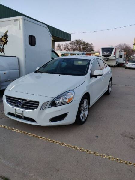 2013 Volvo S60 for sale at Texas RV Trader in Cresson TX
