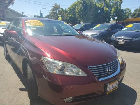 2008 Lexus ES 350 for sale at ALL CREDIT AUTO SALES in San Jose CA