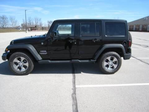 2016 Jeep Wrangler Unlimited for sale at FINNEY'S AUTO & TRUCK in Atlanta IN