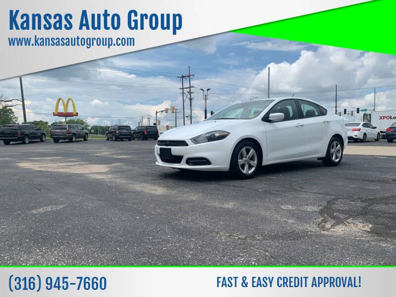 2015 Dodge Dart for sale at Kansas Auto Group in Wichita KS