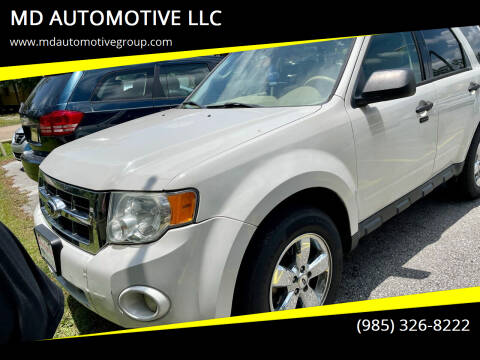 2012 Ford Escape for sale at MD AUTOMOTIVE LLC in Slidell LA