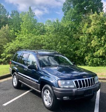 2002 Jeep Grand Cherokee for sale at ONE NATION AUTO SALE LLC in Fredericksburg VA