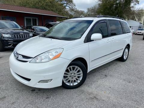 2008 Toyota Sienna for sale at CHECK  AUTO INC. in Tampa FL