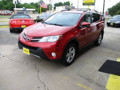 2013 Toyota RAV4 for sale at Metroplex Motors Inc. in Houston TX