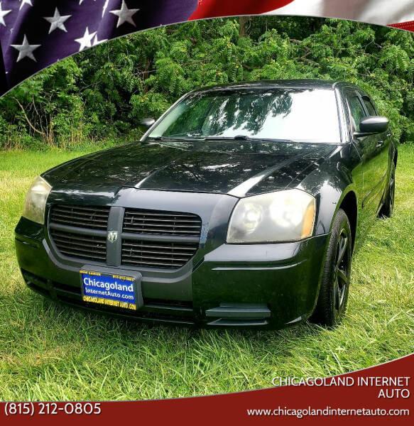 2005 Dodge Magnum for sale at Chicagoland Internet Auto - 410 N Vine St New Lenox IL, 60451 in New Lenox IL