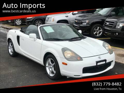 2002 Toyota MR2 Spyder for sale at Auto Imports in Houston TX