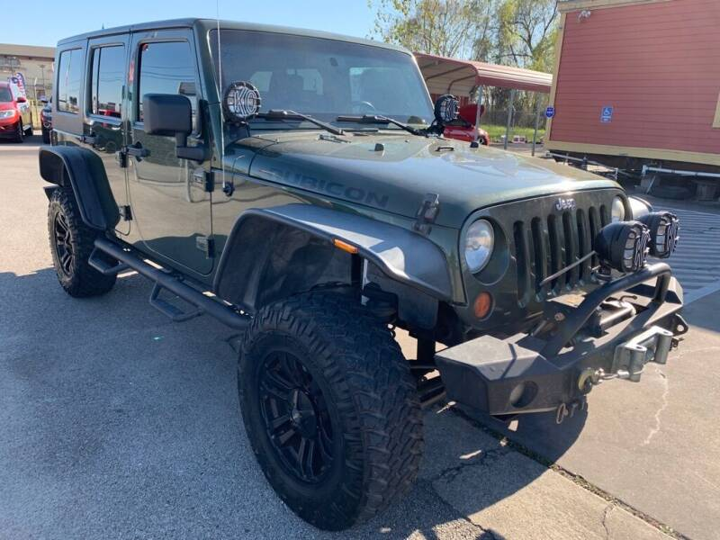 2007 Jeep Wrangler Unlimited for sale at JAVY AUTO SALES in Houston TX