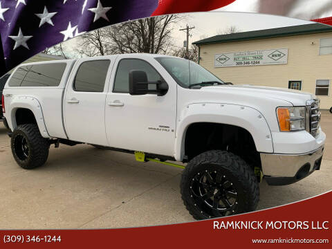 2009 GMC Sierra 2500HD for sale at RamKnick Motors LLC in Pekin IL