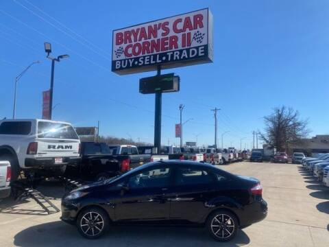 2018 Ford Fiesta for sale at Bryans Car Corner in Chickasha OK