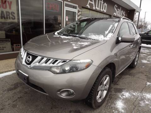 2009 Nissan Murano for sale at Arko Auto Sales in Eastlake OH