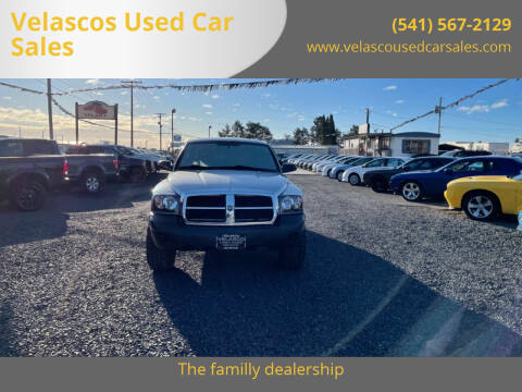2006 Dodge Dakota for sale at Velascos Used Car Sales in Hermiston OR