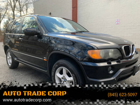 2003 BMW X5 for sale at AUTO TRADE CORP in Nanuet NY