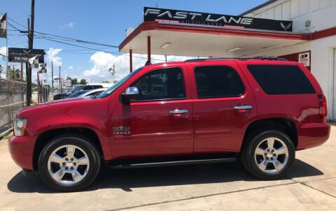 2014 Chevrolet Tahoe for sale at FAST LANE AUTO SALES in San Antonio TX