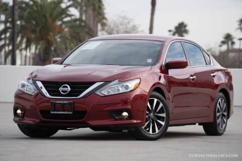 2017 Nissan Altima for sale at Euro Auto Sales in Santa Clara CA