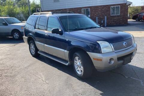 2005 Mercury Mountaineer for sale at WEINLE MOTORSPORTS in Cleves OH