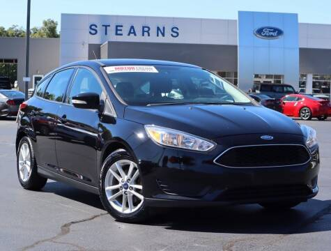 2016 Ford Focus for sale at Stearns Ford in Burlington NC