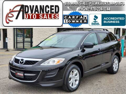 2012 Mazda CX-9 for sale at Advanced Auto Sales in Tewksbury MA