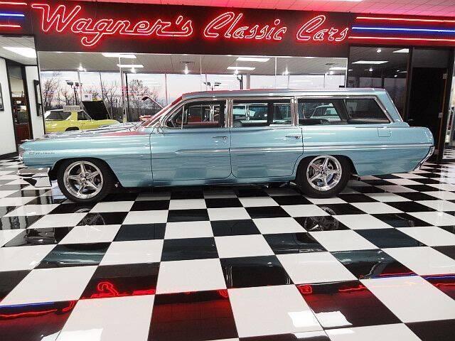 1962 Pontiac Safari for sale at Wagner's Classic Cars in Bonner Springs KS