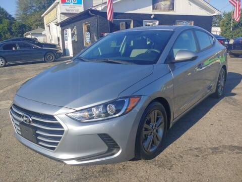 2017 Hyundai Elantra for sale at L&M Auto Import in Gastonia NC