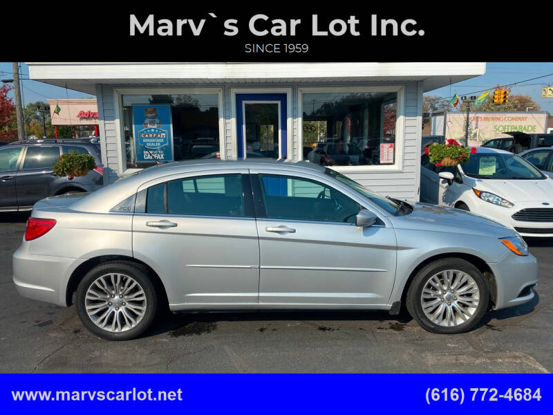 2012 Chrysler 200 for sale at Marv`s Car Lot Inc. in Zeeland MI