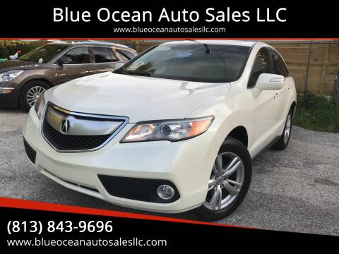 2013 Acura RDX for sale at Blue Ocean Auto Sales LLC in Tampa FL