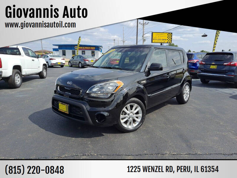 2013 Kia Soul for sale at Giovannis Auto in Peru IL