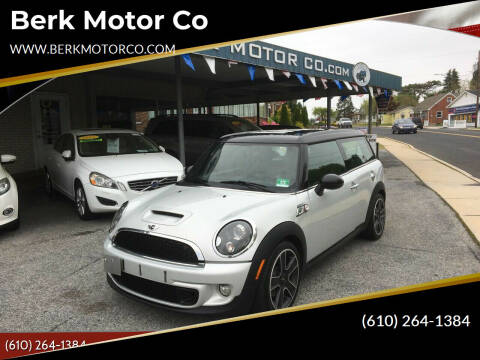 2011 MINI Cooper Clubman for sale at Berk Motor Co in Whitehall PA