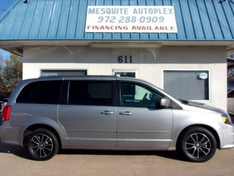 2016 Dodge Grand Caravan for sale at MESQUITE AUTOPLEX in Mesquite TX