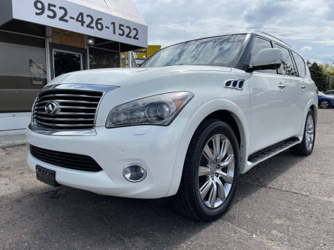 2013 Infiniti QX56 for sale at Mainstreet Motor Company in Hopkins MN