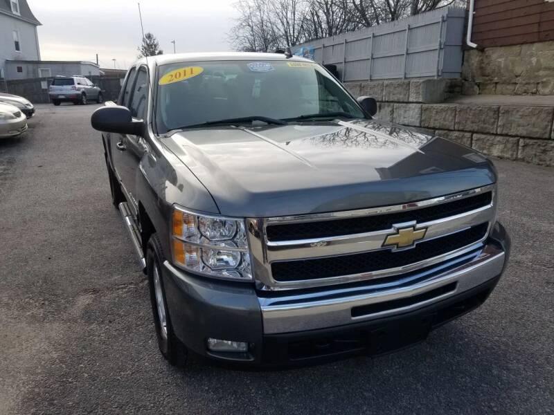 2011 Chevrolet Silverado 1500 for sale at Fortier's Auto Sales & Svc in Fall River MA