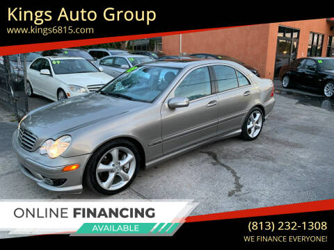 2005 Mercedes-Benz C-Class for sale at Kings Auto Group in Tampa FL