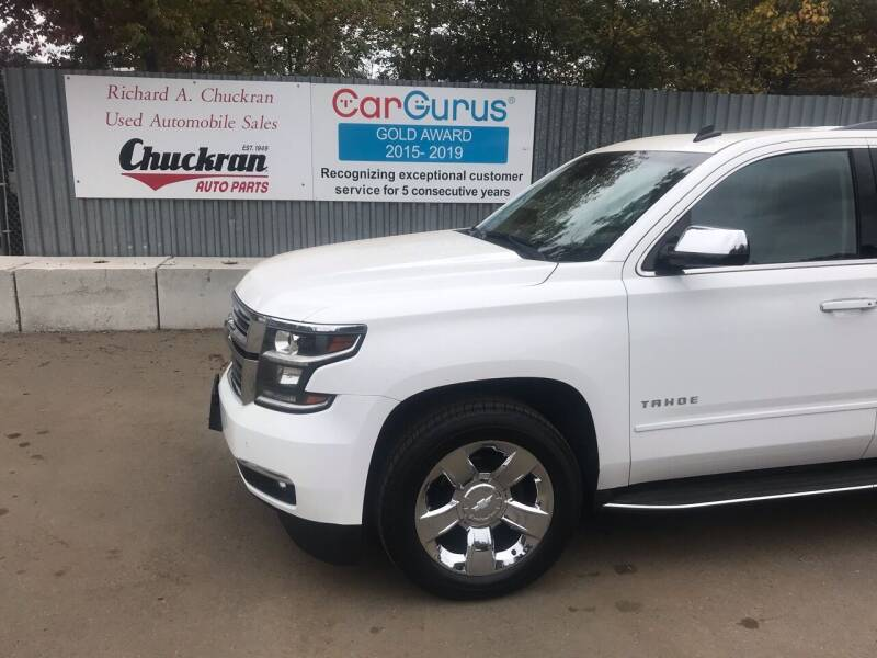 2015 Chevrolet Tahoe for sale at Chuckran Auto Parts Inc in Bridgewater MA