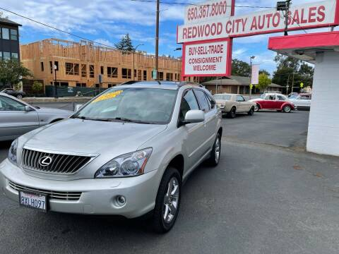 2008 Lexus RX 350 for sale at Redwood City Auto Sales in Redwood City CA