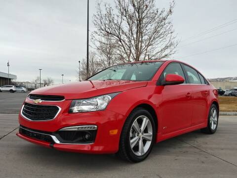 2015 Chevrolet Cruze for sale at AUTOMOTIVE SOLUTIONS in Salt Lake City UT