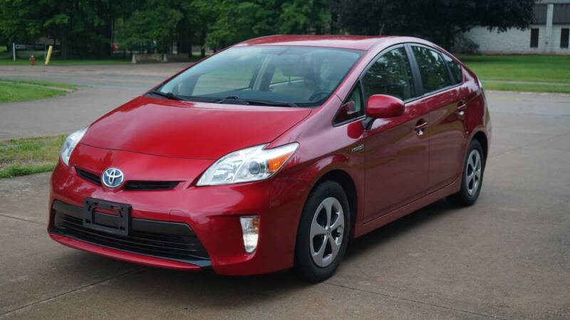2012 Toyota Prius for sale at Grand Financial Inc in Solon OH