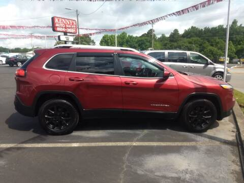 2015 Jeep Cherokee for sale at Kenny's Auto Sales Inc. in Lowell NC