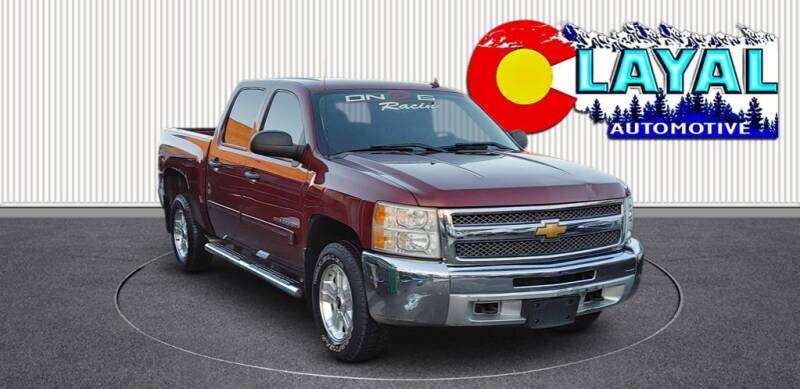 2013 Chevrolet Silverado 1500 for sale at Layal Automotive in Englewood CO