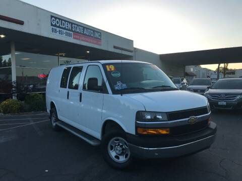 2019 Chevrolet Express Cargo for sale at Golden State Auto Inc. in Rancho Cordova CA