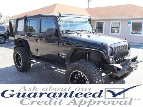 2014 Jeep Wrangler Unlimited for sale at Universal Auto Sales in Plant City FL