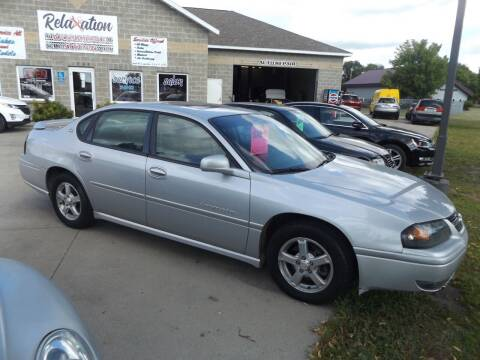 2004 Chevrolet Impala for sale at Relaxation Automobile Station in Moorhead MN
