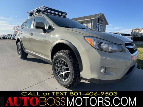 2014 Subaru XV Crosstrek for sale at Auto Boss in Woods Cross UT