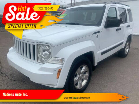 2011 Jeep Liberty for sale at Nations Auto Inc. in Denver CO