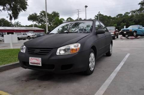 2007 Kia Spectra for sale at STEPANEK'S AUTO SALES & SERVICE INC. - 4215 US Highway 1 in Vero Beach FL