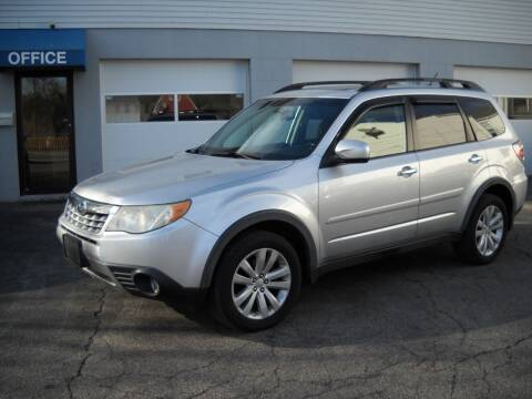 2011 Subaru Forester for sale at Best Wheels Imports in Johnston RI