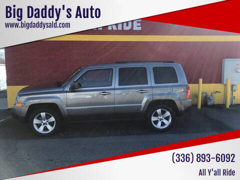 2014 Jeep Patriot for sale at Big Daddy's Auto in Winston-Salem NC