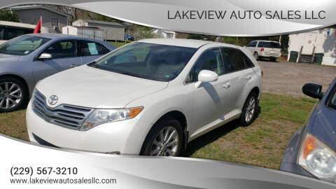 2010 Toyota Venza for sale at Lakeview Auto Sales LLC in Sycamore GA