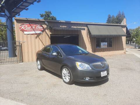2016 Buick Verano for sale at Rent To Own Auto Showroom LLC - Finance Inventory in Modesto CA