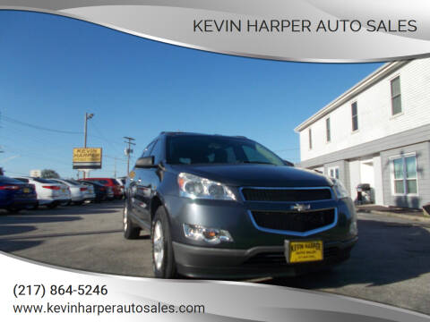 2012 Chevrolet Traverse for sale at Kevin Harper Auto Sales in Mount Zion IL